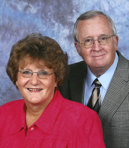 Pastor and Mrs. Dupree